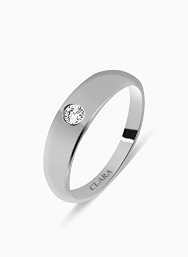 Clara Swarovski The Favourite Sterling Silver Ring For Men-16