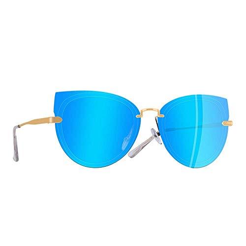YSA Sonnenbrillen Damen Sonnenbrillen Polarized Animal Eye Sonnenbrillen Female Metal Temple Glasses Zubehör