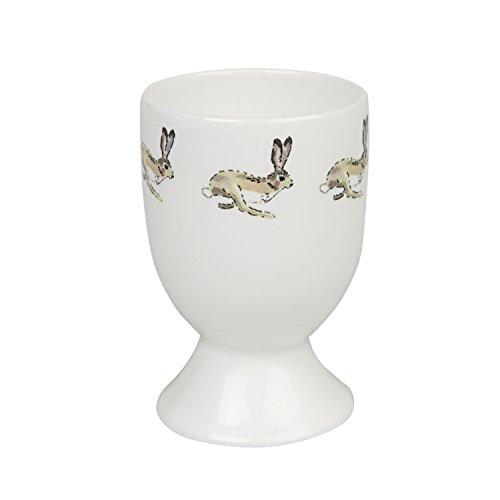 Sophie Allport Coquetier en porcelaine fine motif lapin
