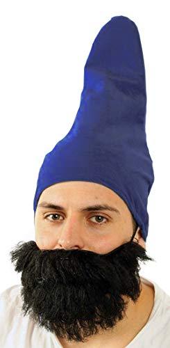 Marco Porta Faschingskostüme Ltd. & Co. KG 7 Zwerge Kostüm Set Zwergenbart Zwergenmütze Märchen Verkleidung Zubehör