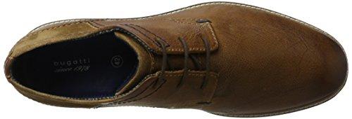 Bugatti Herren 312300013214 Derbys Braun (Cognac/ Cognac)
