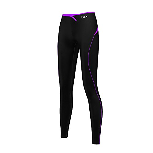 fdx-women-super-thermal-base-layer-compression-leggings-fitness-running-tights-gym-pants-black-purpl