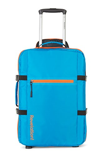 Revelation Jonnie – 2W Std Cbn Case Zip'd Blu Bolsa de viaje, 54 cm, 33 liters, Azul (Blue)