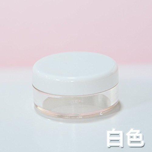 LSGDSXMIY Reise tragbare Kosmetik Unterflasche Lotion Flasche Augencreme Gesicht Creme Box Test Probe Probe Flasche leere Flasche, weiß
