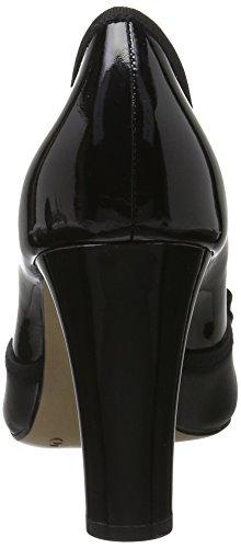 Caprice 224, Escarpins Femme Noir (Black Pa.comb)