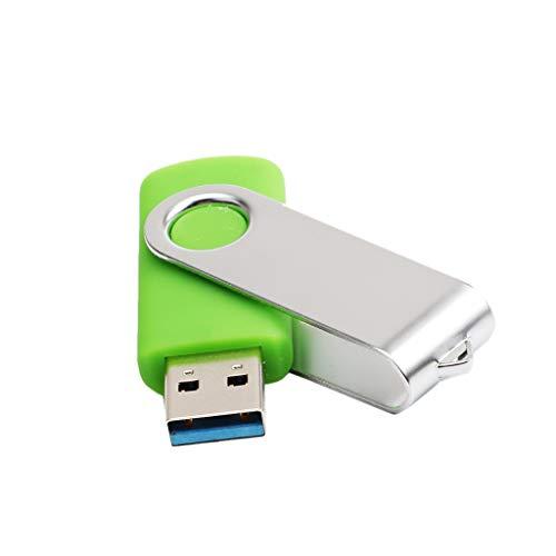 Fcostume USB 3.0 4 GB / 8 GB / 16 GB / 32 GB / 64 GB / 128 GB USB Flash Laufwerke Speicher Digitaler Memory Stick Pen Speicher U-Disk, Grün (8GB) (12-gb-usb-laufwerk)