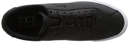 Nike Match Classic Leather, Baskets Basses Pour Homme Noir (noir / Noir)