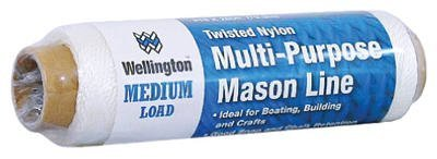 Wellington Puritan 10482 Twisted Nylon Twine/Rope Multi-Purpose Mason Line Many uses Ideal For Boating, Building and Crafts by