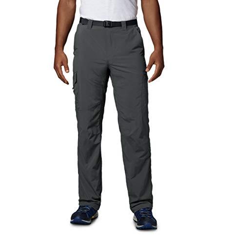 Columbia Cargo Wanderhose für Herren, Silver Ridge Cargo Pant, Nylon, grau (Grill), Größe: 28, AM8007
