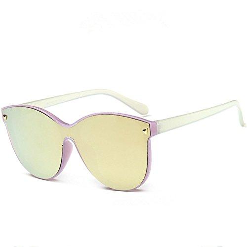 Z-P New Style Unisex Fashion Wayfarer Color Lens Anti-radiation UV400 Sunglasses 61MM