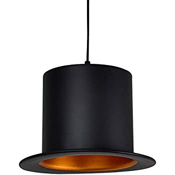 Industrial simple pendant light modern bowler hat style aluminum injuicy lighting modern aluminum top hat jeeves wooster e27 led pendant hanging lights lamps american droplight for dining living rooms bedrooms cloakroom mozeypictures Images