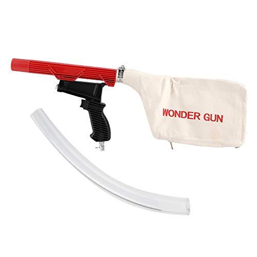 Duokon Pneumatische Staubsaugerpistole, Pneumatischer Pistolenstaubsauger mit Staubsaugerbeutel