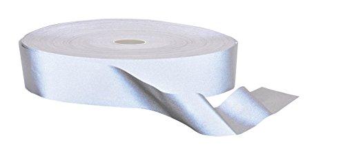 Portwest PORTWEST HV50 Hi-Vis Tex Reflective Tape 100m Silver HV50SIR