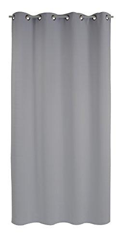 Belles Demeures - Rideau Occultant à Œillets - Gris - 135x180 cm