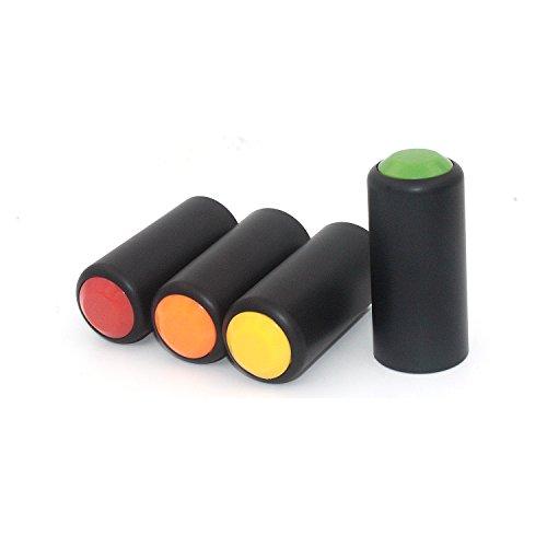 Tramo 4pc Bulk Colorful inalámbrico micrófono recargable