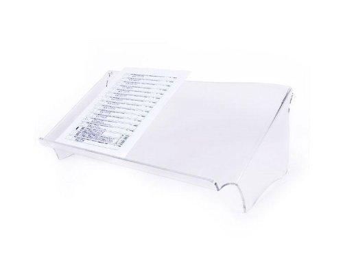 Dataflex ErgoLine Basic - Organizador de almacenaje (510 x 270 x 190 mm, A3, Transparente)