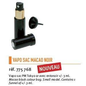 vaporisateur de sac pour parfum Macao Noir