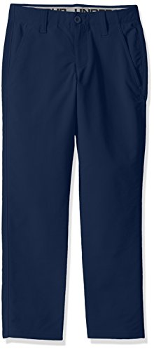 Under Armor Boys' Match Play Pants, Academy/Steel, 12