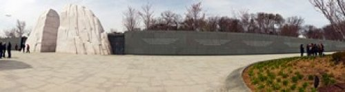 Panoramic Images - Martin Luther King Jr. Memorial at West Potomac Park The Mall Washington DC USA Photo Print (53,34 x 15,24 cm)