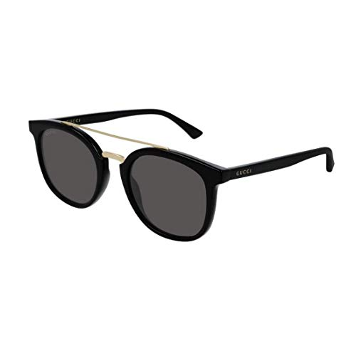 Gucci Sonnenbrillen (GG-0403-S 001) glänzend schwarz - gold - grau