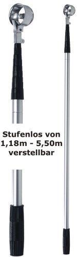 Silverline Teleskop Ballangel aus Alu bis 5,50m ausziehbar
