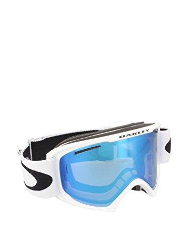 Oakley uomo o2 xl 59-364 0 occhiali sportivi, bianco (matte white/violetiridium), 99