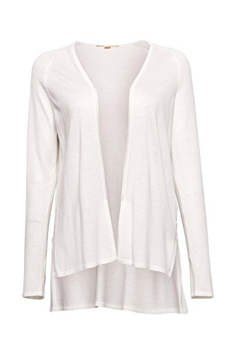 Esprit, Gilet Femme Blanc (Off White 110)