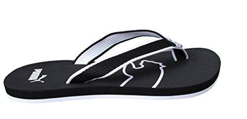 Puma ONA Flip Unisex-Erwachsene Zehentrenner black - white-01