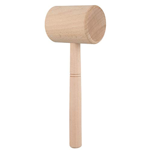 XZANTE Holz Hammer Leder Schnitzen Hammer Druck Werkzeug Diy Handwerk Rindsleder Punsch Naehen Werkzeug