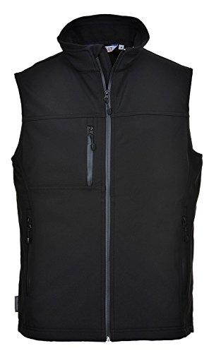 Portwest Workwear Softshell Bodywarmer (3L) - TK51 - EU / UK Schwarz