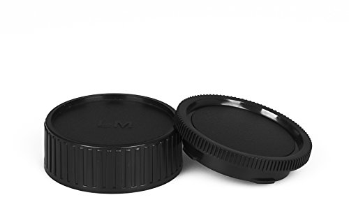 Leica M Gehäusedeckel & Objektivrückdeckel LM Gehäuse Deckel Kappe Body Cap - Contax Leica M