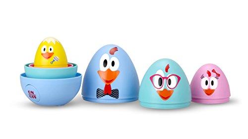 Ouaps - 61115 - La famille Cot Cot - Chasse aux œufs