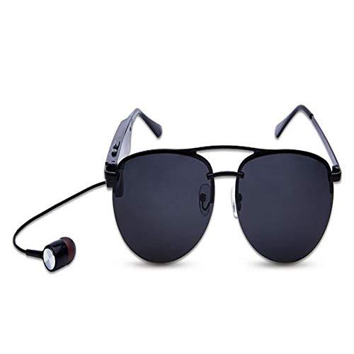 KCaNaMgAl Intelligente Bluetooth-Brille, Reisesonnenbrillen, Wechselobjektive, polarisierte Sonnenbrillen, Rufmusik, High-Fidelity-Sound für Bergsteigen, Radfahren, Outdoor