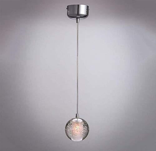 Blasen Globe Anhänger (Kronleuchter Lampenschirm Lampen Beleuchtung Kronleuchter Runde Blasen G4 Led Globe Hängelampe Pendelleuchte Scheune Lager Küche Restaurant Esszimmer Deckenleuchte)