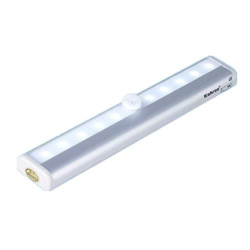 Capteur Infrarouge De Corps Humain De LED, Lampe à économie D'énergie De Feu Arrière, Peut être Relié à Un Support Magnétique