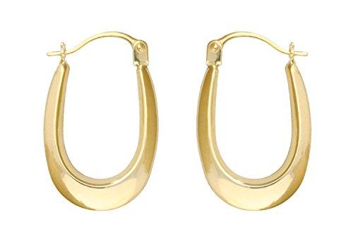 H. Gaventa Ltd E - 10219 - Pendientes de mujer de oro amarillo (9k)