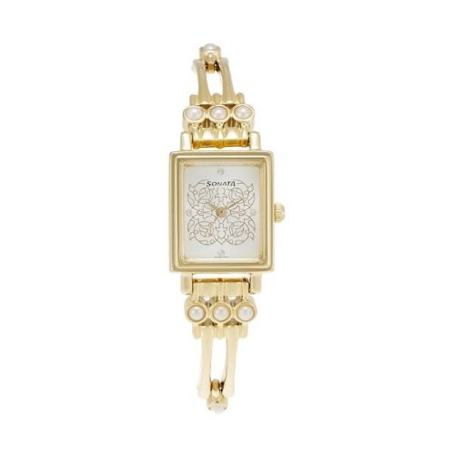 Sonata Analog Multi-Color Dial Women's Watch - 8080YM04 image