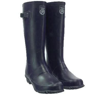 Tayberry Navy Blue Classic Ladies Wellington Boot - Size 8
