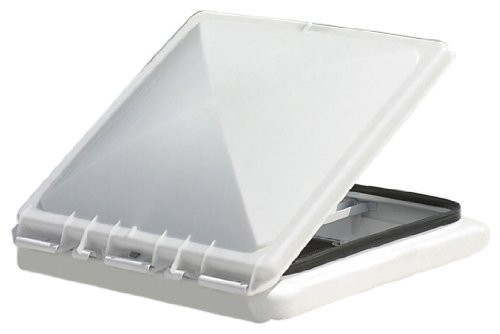 Camco 40152/40153 White Polypropylene Vent Lid for Metal Vent - Jensen (since 1994) by Camco