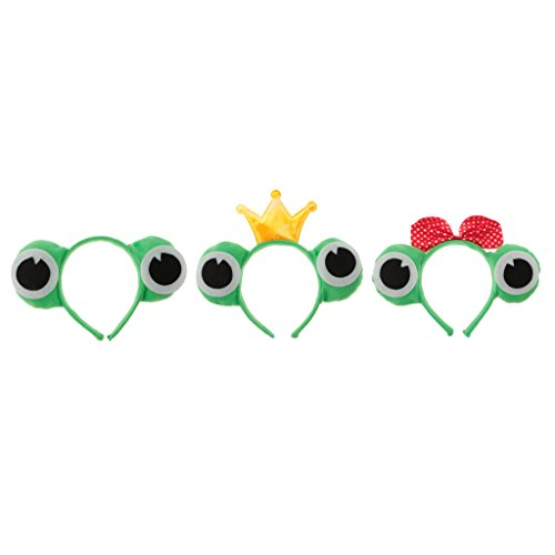 Hellery Frog Eye Stirnband Prinzessin Prinz Kostüm Unisex - Frosch Prinz Und Prinzessin Kostüm