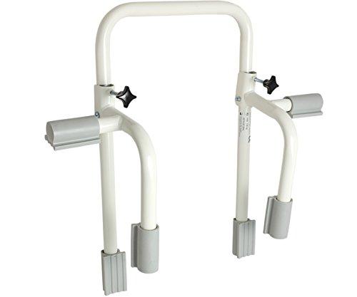 Badewannen-Einstiegshilfe EXTRA Wannengriff Haltegriff, weiß/grau