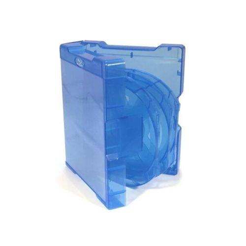 Vision Media custodie amaray triple per blu ray,scomparto interno con dorso da 14mm,confezione da 5 Custodie supporti vergini