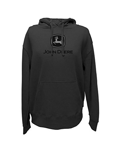 Top of the World Herren John Deere Logo Hoodie, Herren, anthrazit (Für John Sweatshirts Männer Deere)