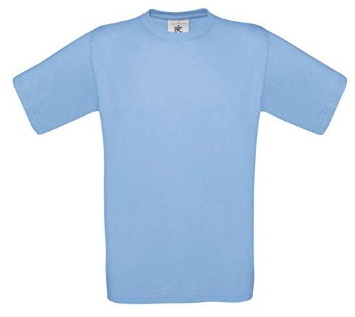 B&CHerren T-Shirt Blau - Sky