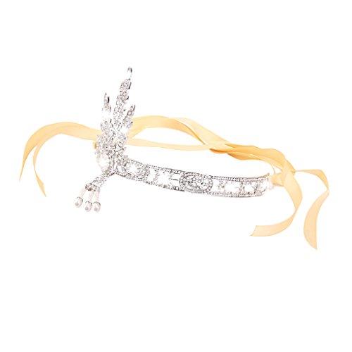 (Mode Stil Hochzeitsgesellschaft Tiarakrone Glänzenden Strass Braut Stirnband)