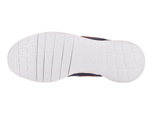 Nike Roshe One Fille Baskets Mode Bleu - bianco