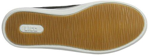 Lico Unisex-Erwachsene Laredo Sneaker Schwarz (Schwarz/Braun)