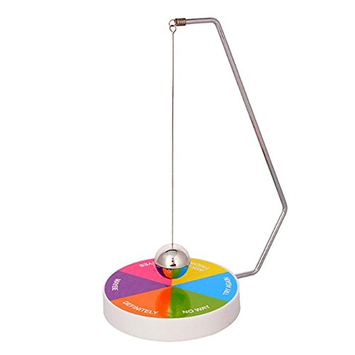 PROW® Colorful Base Newton Swing Ball Equipment Magnetic Decision Maker Fun Puzzle Creative Teaching Toys