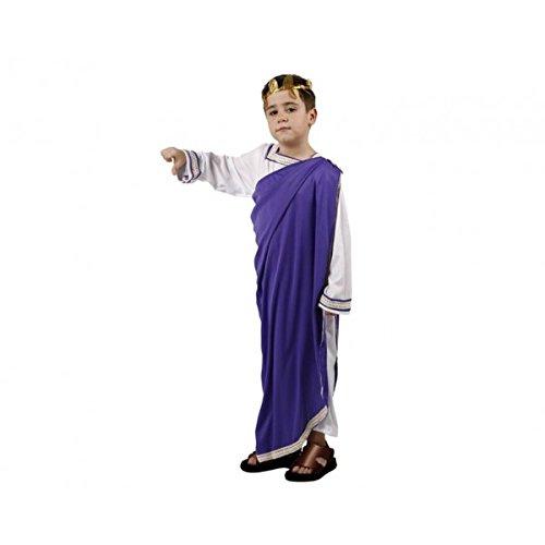 Karneval Kostüm römischen violett 5-6Jahre (De Violetta Juegos)