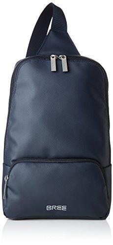 BREE Unisex-Erwachsene Punch 721, Blue, Body Bag Umhängetasche, Blau, 42x12x36 cm - Body Bag Handtasche